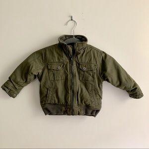 Calvin Klein Jeans • Puffer Cargo Jacket 24 Months